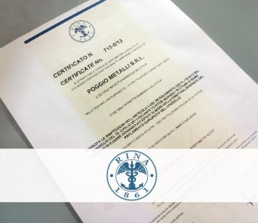 Poggio-Metalli-Certificazione-Rina-715-8